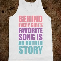 Behind Every Girl's Favorite Song Is A Story