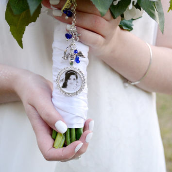 Bridal Bouquet Charm Bouquet Charm From Petal Whispers