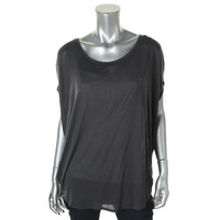 Bella Luxx Womens Modal Batwing Sleeves Pullover Top