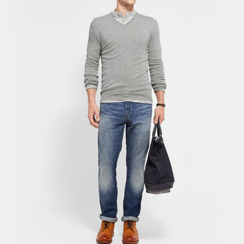 J.Crew - 770 Slim-Fit Washed Denim Jeans | MR PORTER
