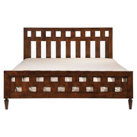 Palm Springs Retro King Bed