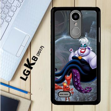 Ursula Octopus Little Mermaid D0096 LG K8 2017 / LG Aristo / LG Risio 2 / LG Fortune / LG Phoenix 3 Case