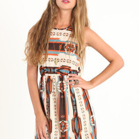 Aztec Findings Dress - $37.00 : ThreadSence.com, Your Spot For Indie Clothing & Indie Urban Culture