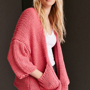 BDG Chunky Open Cardigan - Urban Outfitters
