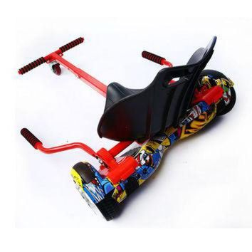 CREYUG7 High quality Hoverboard Go Kart Conversion Kit for All size Hoverboards All Ages Self