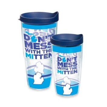 """Tervis® """"Don't Mess with the Mitten"""" Michigan Wrap Tumbler with Lid"""