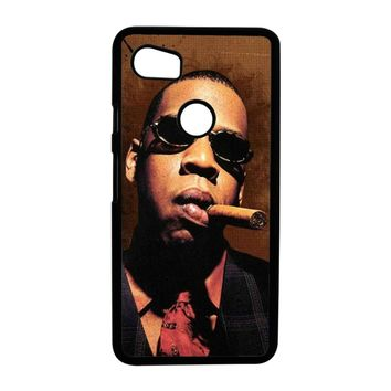 Jay-Z Cigar Glasses Tie Vest 01  Google Pixel 2XL Case