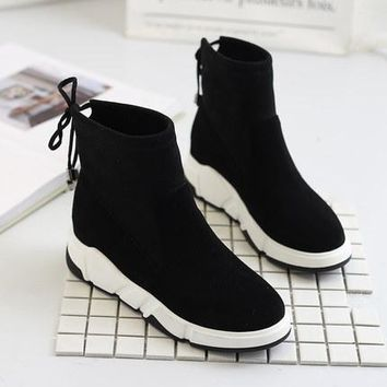 Increased within the women's shoes, cotton shoes, Martin boots, shoes, winter snow boots