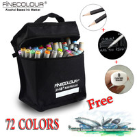 FINECOLOUR Artist Double Headed Sketch Copic Marker Set 36 48 60 72 Colors Alcohol Based Manga