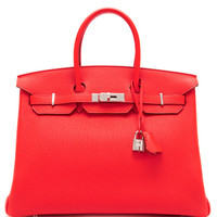 Hermes 35Cm Capucine Togo Leather Birkin by Heritage Auctions Special Collections - Moda Operandi
