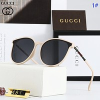 GUCCI Fashion new polarized travel sun protection couple glasses eyeglasses 1#