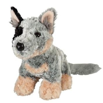 "Blue Heeler Cattle Dog soft plush toy stuffed animal 10""/25cm 'Bluey' NEW"
