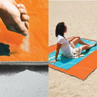 Sandless Beach Mat ornge