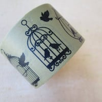 Washi Tape - Single Roll - Mixed Birdcages