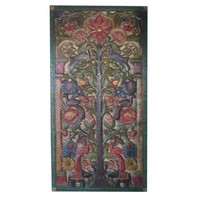 Mogul Vintage Hand Carved KALPAVRIKSHA TREE OF Dreams Wall Panel Eclectic Mix Decor - Walmart.com