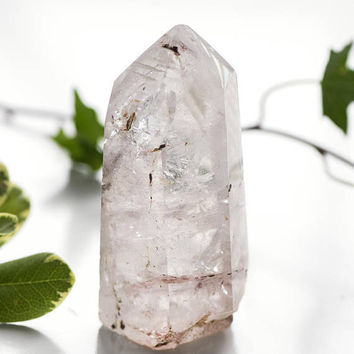CLEAR QUARTZ OBELISK 252g - Natural Healing Stone, Crystal Point, Crystal Grid, Chakra, Reiki, Metaphysical Crystals, Healing Wand,Generator