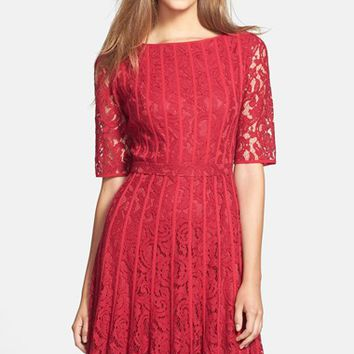 Women's Adrianna Papell Lace Fit & Flare