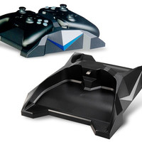 UFO Design Blue LED Charging Stand for XBOX One Controllers (Black)