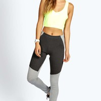 Emma Basic Panelled Sports Legging