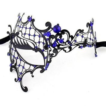 Women Party Mask Phantom Of The Opera Venetian Masquerade Mask Metal Half Face Mask New Arrival