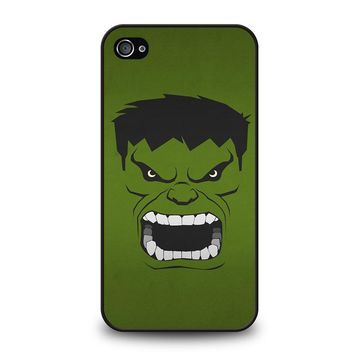 HULK MARVEL COMICS MINIMALISTIC iPhone 4 / 4S Case