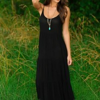Night Air Maxi Dress