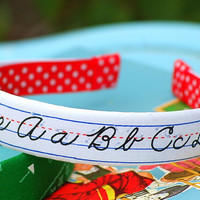 Teacher's Pet Back to School Headband 1 Inch Back by looking4lilly