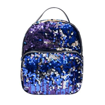 Woman Backpacks Women's Shoulder Bags Female Mochila Feminina Teenage Girls College Sequins Students Laptop Fashion Travel Bags