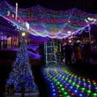 New 300 L Net Mesh Fairy Lights Lighting Christmas Wedding Party  Colorful 7_S (Color: Multicolor)