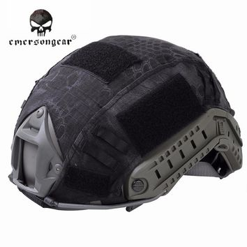 Emerson Paintball Wargame Helmet Cover Cloth Army Airsoft Tactical Military Helmet Cover For Fast Helmet Hunting Gear EM8825