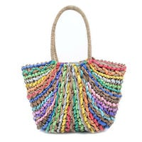 Pree Brulee - Farmers Market Colorful Basket Tote