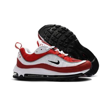 Nike Air Max 98 Gym Red Running Shoes - Best Deal Online
