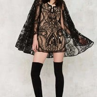 Nasty Gal Rodeo Lace Dress