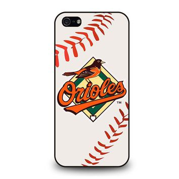 BALTIMORE ORIOLES BASEBALL iPhone 5 / 5S / SE Case Cover