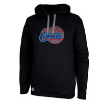 Los Angeles Clippers adidas Tip-Off Pullover Hoodie – Black