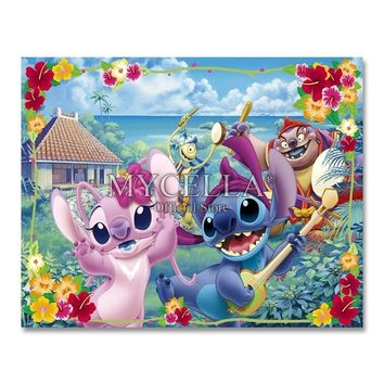 Full Drill 5D DIY Diamond Painting Cartoon Animals 3D Embroidery Cross Stitch Mosaic Rhinestone Home Decor GiftKawaii Pokemon go  AT_89_9