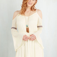 Boho Mid-length 3 A-line Renew Dawn, New Day Dress by ModCloth