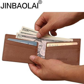 Thin Minimalist Handy Slim Short Designer Brand Fashion Men Wallet Male Clutch Purse Bag Money Clip Perse Walet Cuzdan Vallet