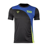 Jeansian Men's Outdoor Sport Quick Dry Short Sleeved T-Shirt LSL145