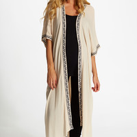 Ivory-Linen-Embroidered-Accent-Maxi-Maternity-Cardigan