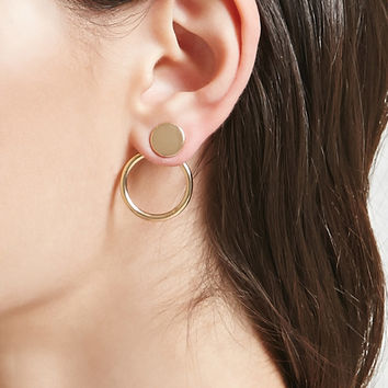 Circle Cutout Ear Jackets