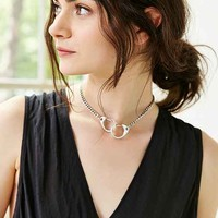 Linked Chain Choker Necklace