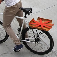 Bent Bicycle Basket