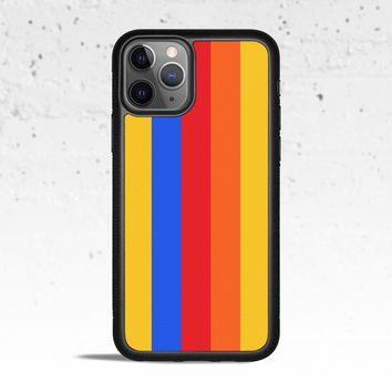 Rainbow Striped Phone Case for Apple iPhone