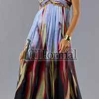 Cheap Prom Dresses - In Stock 5561 Long Print