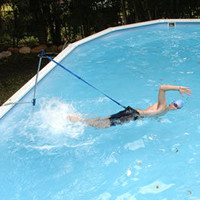 HomeSwimmer Stationary Swimming System at SwimOutlet.com - Free Shipping