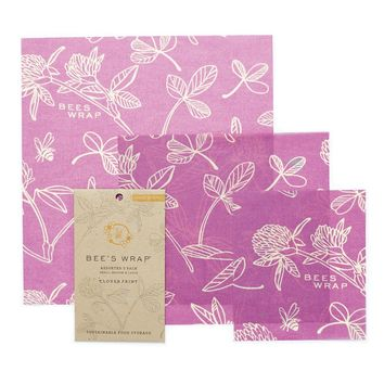 Clover Assorted Size Bee's Wraps