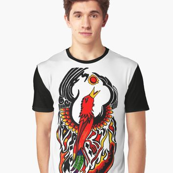 """Phoenix on Fire"" Men's Premium T-Shirt by blakcirclegirl 