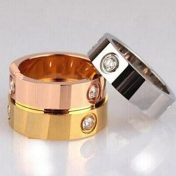 Eternal ring LOVE classic ring for lovers