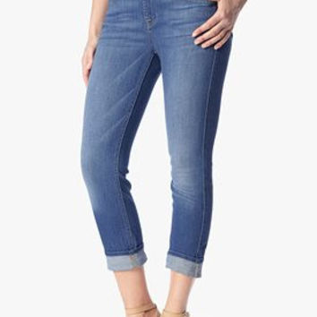 7 For All Mankind Cropped Relaxed Skinny | Weekend Denim Medium | Sale